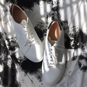 Kate spade - white ♠️ leather sneakers
